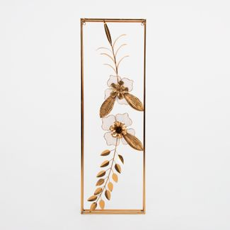cuadro-90x29-5cm-metalico-flores-y-hojas-dorado-7701016139113