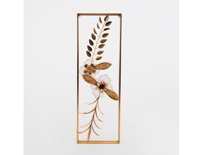 cuadro-89-9x30cm-metalico-flores-y-hojas-dorado-7701016139120