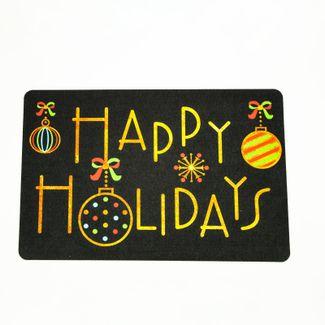 tapete-navideno-37-5x57-5cm-diseno-esferas-happy-holy-day-negro-625963
