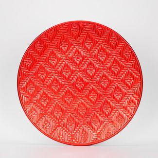 plato-navideno-33-cm-circular-rombos-rojos-7701016187497