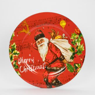 plato-navideno-circular-33-cm-diseno-santa-con-bolsa-de-regalos-7701016112758