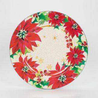 plato-navideno-circular-33-cm-diseno-poinsettias-rojas-7701016115742