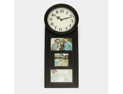 reloj-de-pared-con-portarretrato-para-3-fotos-negro-7701016140706