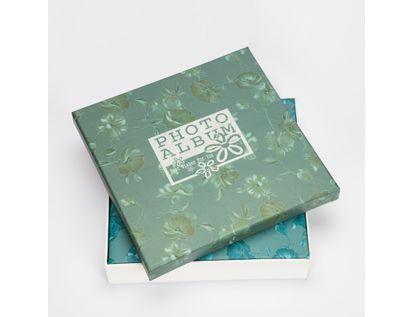 album-fotografico-25-5x25cm-20-hojas-flores-azul-turquesa-7701016155014