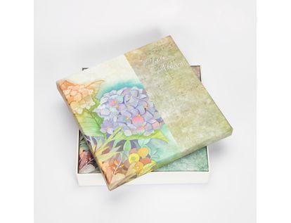 album-fotografico-25-5x25cm-20-hojas-flores-morado-y-rosado-7701016164771
