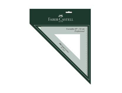 escuadra-45-32cm-faber-castell-verde-transparente-7703336077175