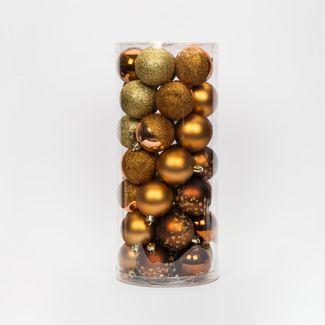 set-de-bolas-escarchadas-6cm-x35-unidades-dorado-y-cobre-7701016163385