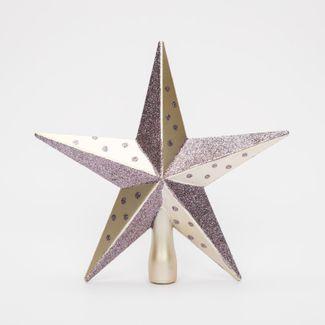 punta-de-arbol-20cm-estrella-escarchada-cobre-y-rosado-7701016164504
