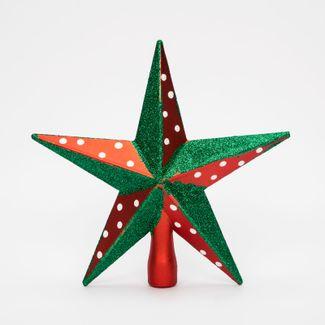 punta-de-arbol-20cm-estrella-escarchada-rojo-y-verde-7701016164535