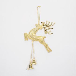 reno-colgante-30cm-con-campanas-doradas-7701016159845