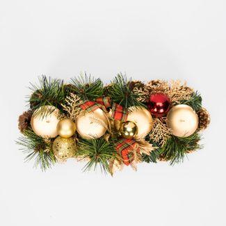 candelabro-32cm-con-4-portavelas-dorados-con-pinas-bolas-y-regalos-7701016169905