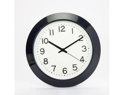 reloj-de-pared-29-5cm-circular-blanco-con-borde-grueso-negro-7701016160445
